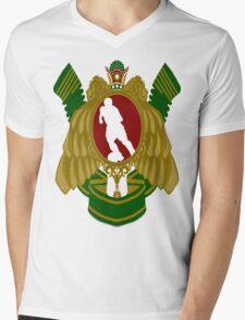 Iranian Football Mens V-Neck T-Shirt