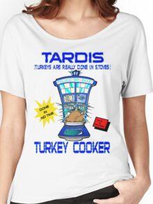 Tardis Turkey Cooker Women's Relaxed Fit T-Shirt