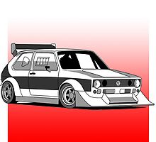 Volkswagen Golf by reallyloud