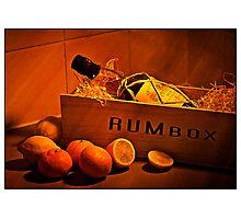 Quality Rum Fine Art Photographic Print
