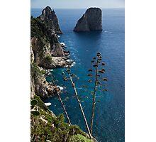 The Mediterranean Magic of Capri  Photographic Print