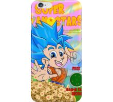 super saiyan stars iPhone Case/Skin