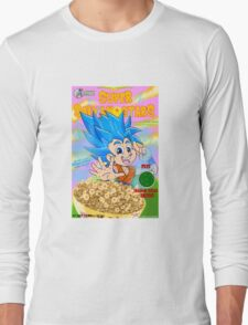 super saiyan stars Long Sleeve T-Shirt