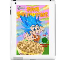 super saiyan stars iPad Case/Skin