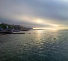 Cromer Sea Fret by Avril Harris