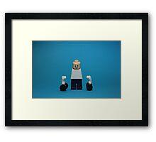 Strongman Training Framed Print