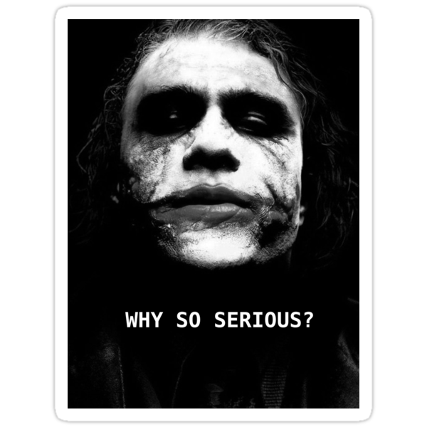 The Joker. by Chris Abraham