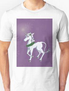 Holly Unicorn Unisex T-Shirt