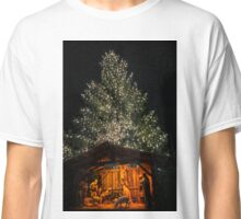 Nativity and Tree Classic T-Shirt