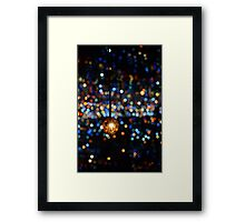 Dotted light Framed Print