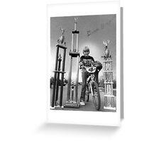 Derek Dirt bike Mckenzie Greeting Card
