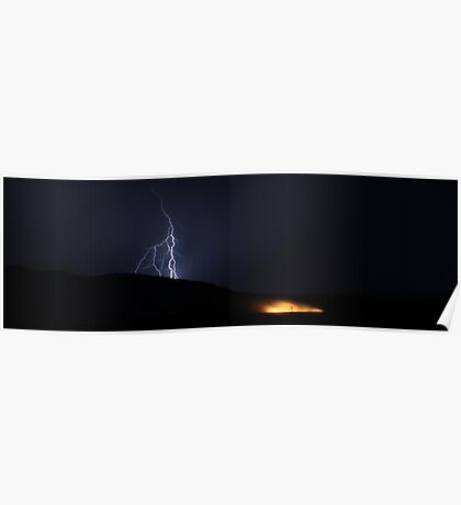 Lightning, Fire and Earth Poster