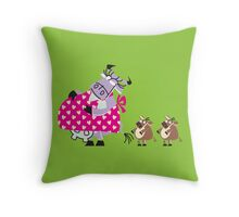 Cool Mama Cow!!! Throw Pillow