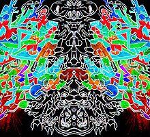 Freebase Psychedelic Inversion II by Yuhki Mayne
