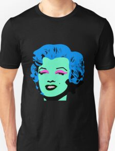 Blue Marilyn Monroe T-Shirt