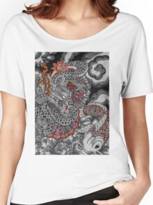 Dragon and koi fish Women's Relaxed Fit T-Shirt