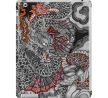 Dragon and koi fish iPad Case/Skin