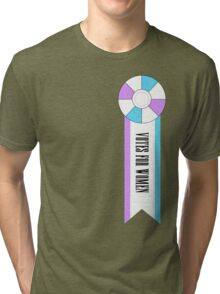 Well Done, Sister Suffragette! Tri-blend T-Shirt