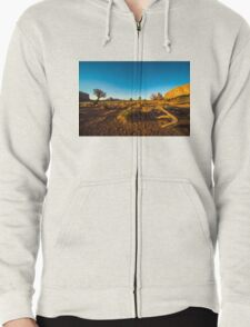 Monument Valley branch Zipped Hoodie
