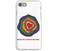 Hillman City community heart iPhone Case/Skin