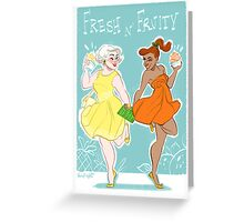 Fresh 'N' Fruity Greeting Card
