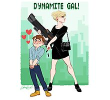 Dynamite Gal Photographic Print