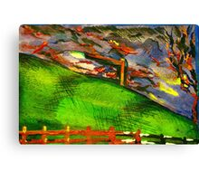 nice and windy night Canvas Print
