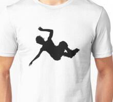 Aggressive inline skating jump silhouette Unisex T-Shirt