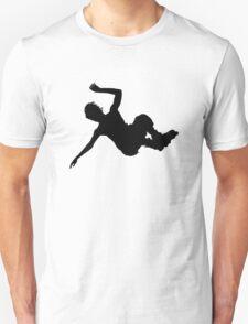 Aggressive inline skating jump silhouette T-Shirt