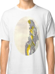 Yellow to Grey Classic T-Shirt
