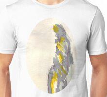 Yellow to Grey Unisex T-Shirt