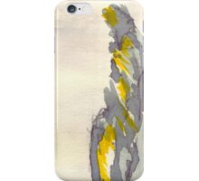 Yellow to Grey iPhone Case/Skin