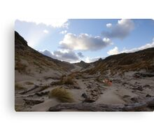 West Ruggedy Dune Canvas Print