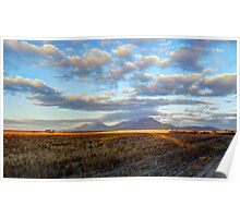 Stirling Ranges from the east Poster