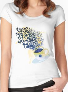 Humming_Tunes Women's Fitted Scoop T-Shirt