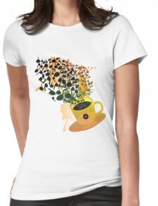 Humming_Tunes Womens Fitted T-Shirt