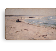 Eilif Peterssen - From the Beach at Sele Canvas Print