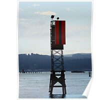 Channel Marker Poster