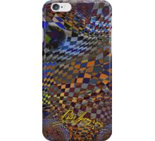 Checkers Galore 16 iPhone Case/Skin