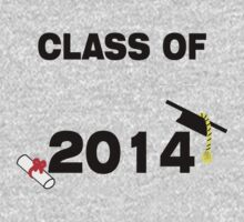 Class of 2014 #2 BLACK by rjburke24