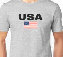USA Horizontal Unisex T-Shirt