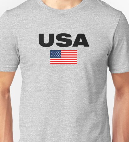 USA Horizontal Unisex T-Shirt