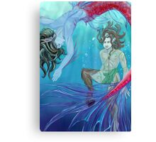 Phinneas and Pan Canvas Print