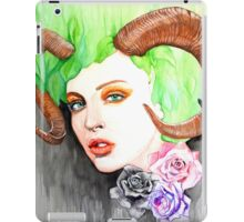 Horned Beauty iPad Case/Skin