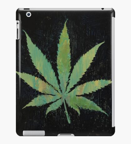Pot Leaf iPad Case/Skin