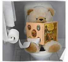 Toilet Time for Teddy Poster
