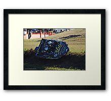 360 Bolt Framed Print