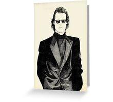 Sting Greeting Card