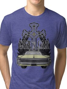 God's car Tri-blend T-Shirt