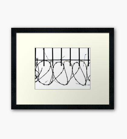 Heart Surgery  Framed Print